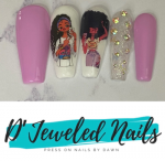 D'Jeweled Nails